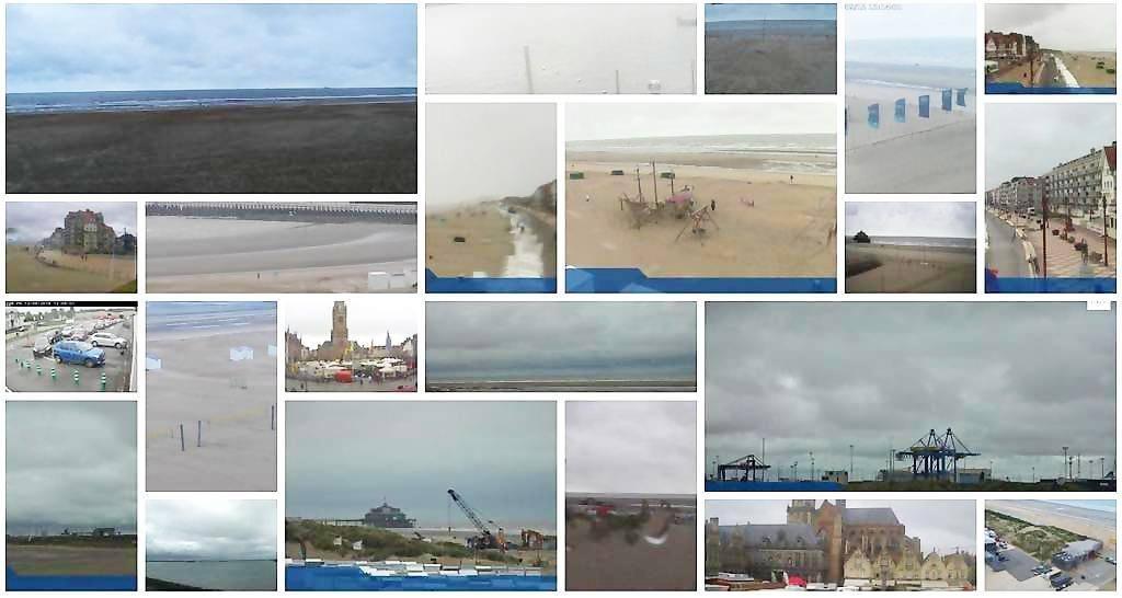 Webcams-Belgische Kust-live