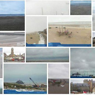 Webcams-Belgian Coast-live