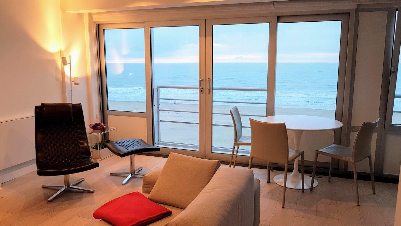 Bon Location De Vacances_oostende_appartement_zeezicht_loft_breed Zicht Op Zee